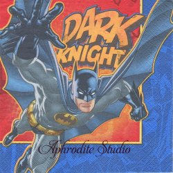 バットマン PARTY NIGHT キャラクター 1枚 バラ売り 32.7cm ペーパーナプキン MARVEL