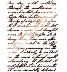 スタンペリア【Calligraphy 】カリグラフィー 文字 ステンシルシート♪ 21x29.7cm KSG321 テンプレート エンボス Stamperia