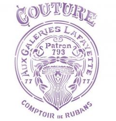 スタンペリア【Couture】クチュール ステンシルシート♪ 21x29.7cm KSG402 テンプレート エンボス Stamperia