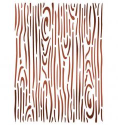 スタンペリア【Wood effect】木目 ステンシルシート♪ 15x20cm KSD287 テンプレート エンボス Stamperia