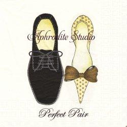 Perfect Pair 靴 1枚 バラ売り 33cm ペーパーナプキン ppd