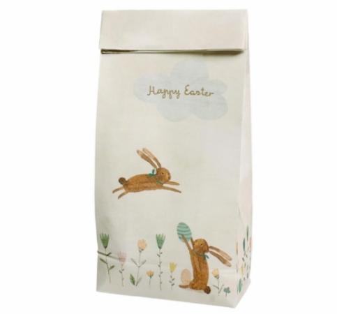 北欧 メイレグ ギフトバッグ 1枚バラ売り うさぎ Easter イースター Maileg