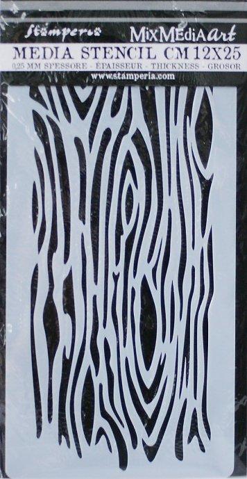 スタンペリア 【Wood imitation】 厚手 ステンシルシート♪ 12x25cm KSTDL16 テンプレート エンボス Stamperia