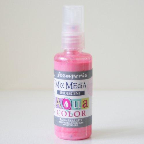 スタンペリア スプレー式絵の具 アクアカラー 【ピンク】 Aquacolor spray 60ml-pink KAQ023 Stamperia