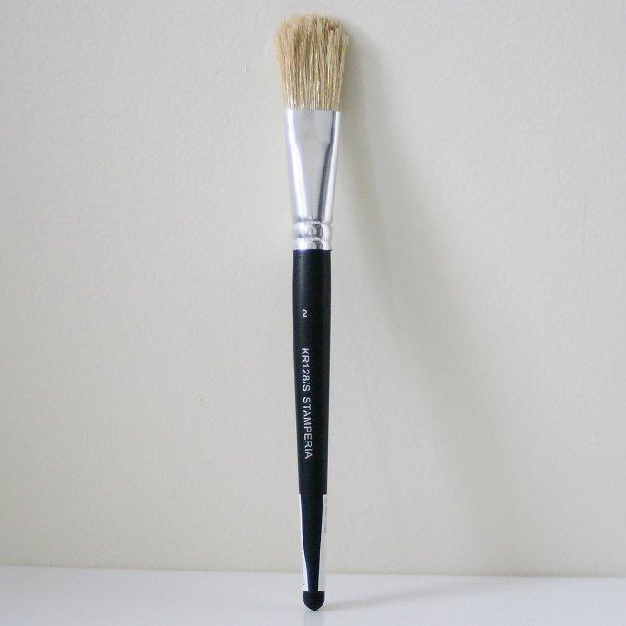 スタンペリア 筆 ブラシ Brush Standarino サイズ2  デコパージュ ツール KR128/S STAMPERIA