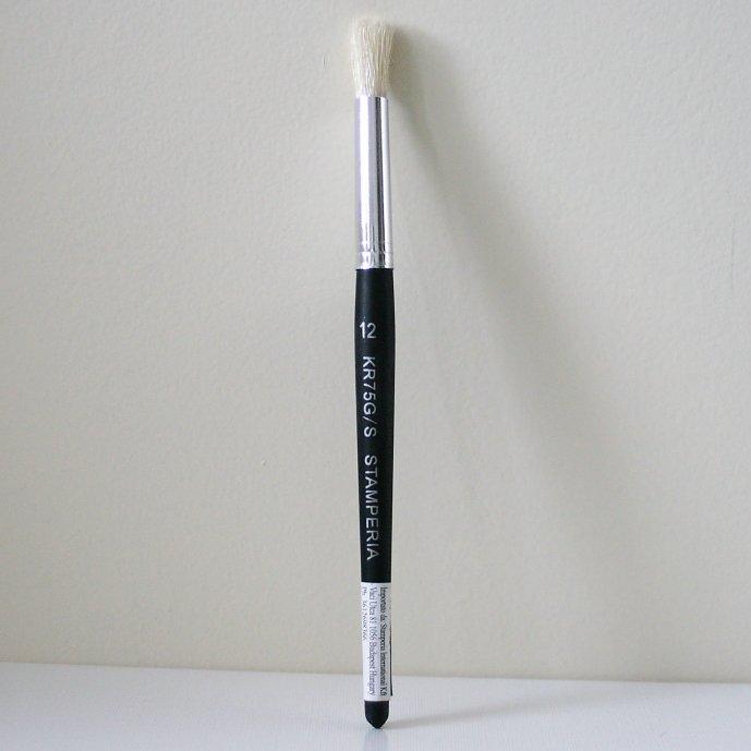 スタンペリア 丸筆 ブラシ Shading Brush サイズ12  デコパージュ ツール KR75G/S STAMPERIA