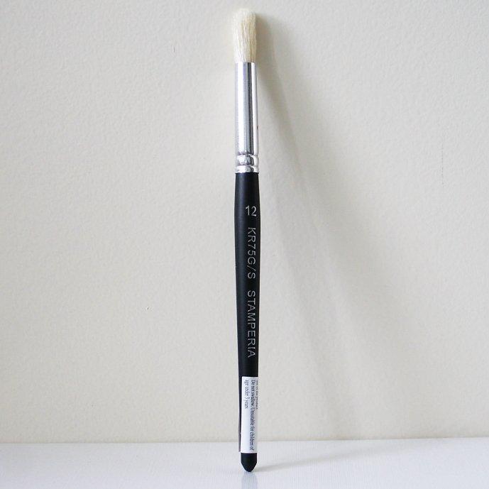 スタンペリア 丸筆 細い線 ライナーブラシ Liner Brush サイズ12  デコパージュ ツール KR76B/S STAMPERIA