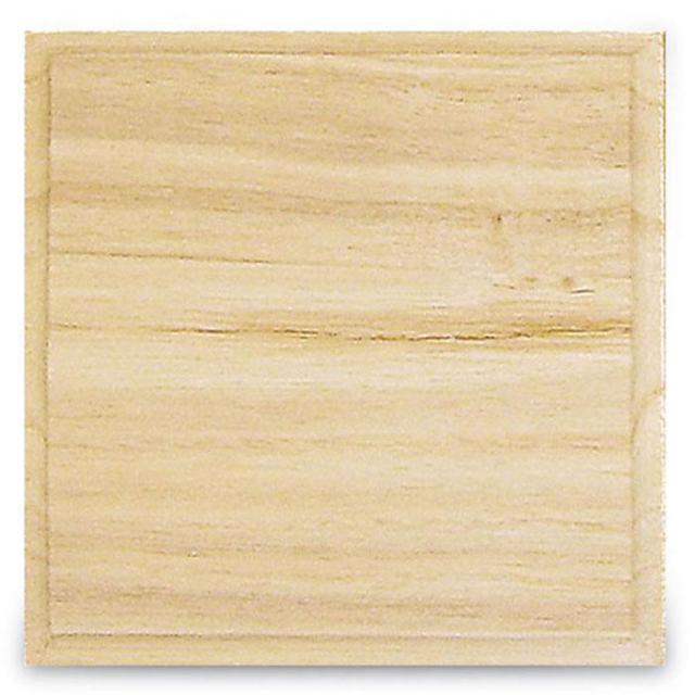 スタンペリア 木製 正方形ボード プレート Square plate KL101 デコパージュ 素材 STAMPERIA
