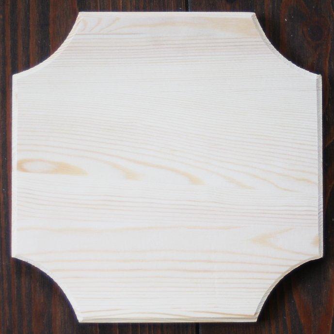 スタンペリア 木製 正方形ボード プレート デコラティブ Square plate 17cm KL102 デコパージュ 素材 STAMPERIA