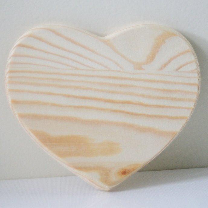 スタンペリア 木製 ハート形ボード プレート Heart shape plate 12x10.5cm KL172 デコパージュ 素材 STAMPERIA