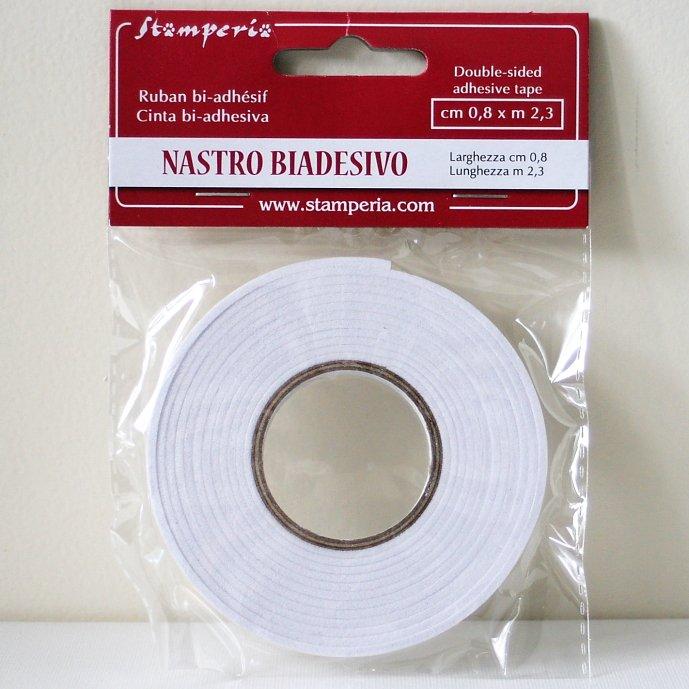 スタンペリア カード作りや3Dの表現に。ラバー両面テープ 0.8x2.3m SBA369 Stamperia
