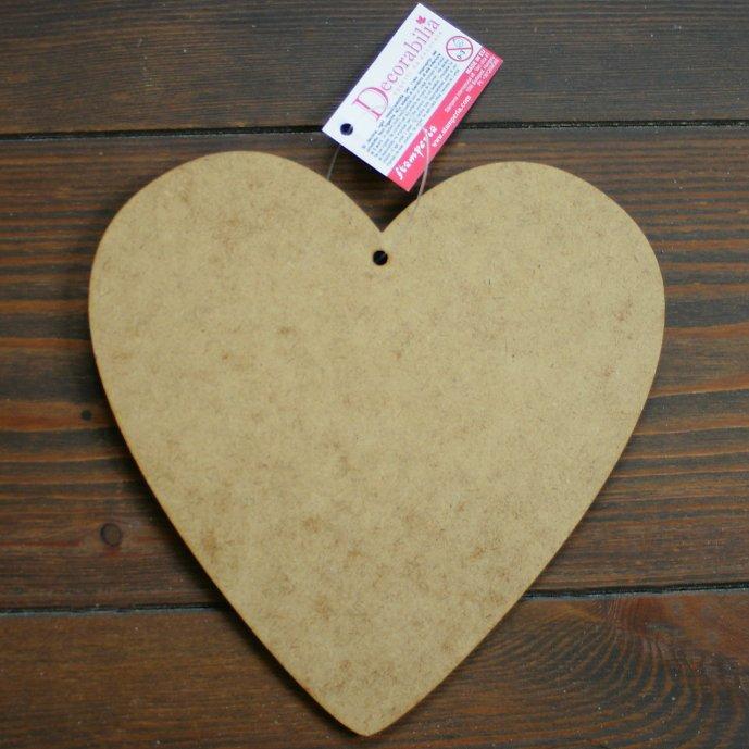 スタンペリア パーティクルボード ハート型 MDF Heart Small Size 16.5x16.5cm KF374 デコパージュ 素材 STAMPERIA