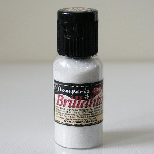 スタンペリア グリッターパウダー 【パールホワイト】 Glitter 20グラム pearl white K3GP03 Stamperia