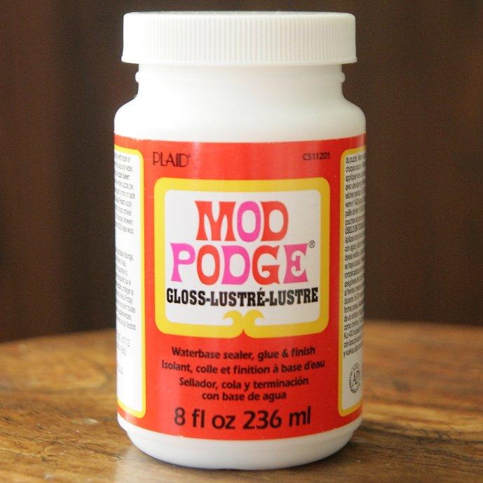 モッドポッジ 一般用 デコパージュのり グロス 艶有りタイプ MOD PODGE GLOSS 236ml