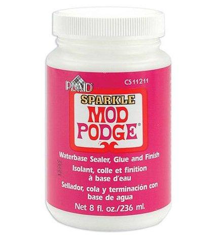 モッドポッジ きらきらの輝きが生まれます デコパージュのり スパークル MOD PODGE SPARKLE 236ml