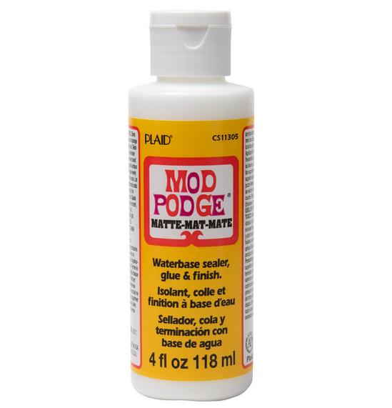 モッドポッジ 少量お試しタイプ 一般用 デコパージュのり マット 艶なしタイプ MOD PODGE MATTE 118ml