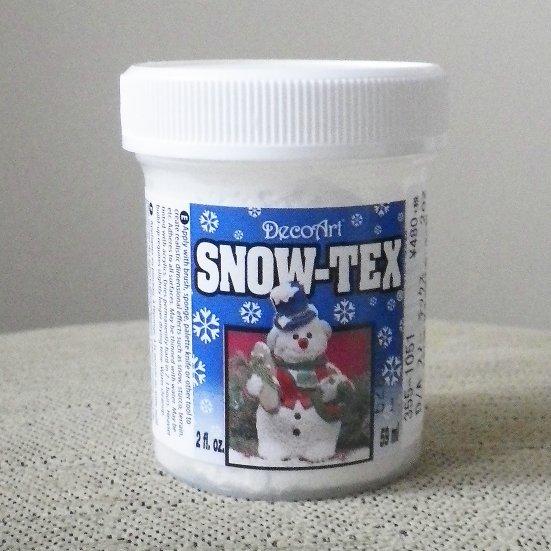雪の表現に最適 モデリング剤 スノーテックス SNOW TEX 56cc デコパージュ用 材料