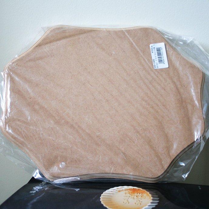 スターウッド プラーク ファンシー 八角 大 MDF Fancy big 26.7x22.5cm デコパージュ 素材