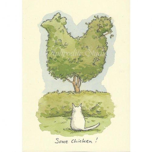 アニタ・ジェラーム メッセージカード【SOME CHICKEN】 グリーティングカード Anita Jeram