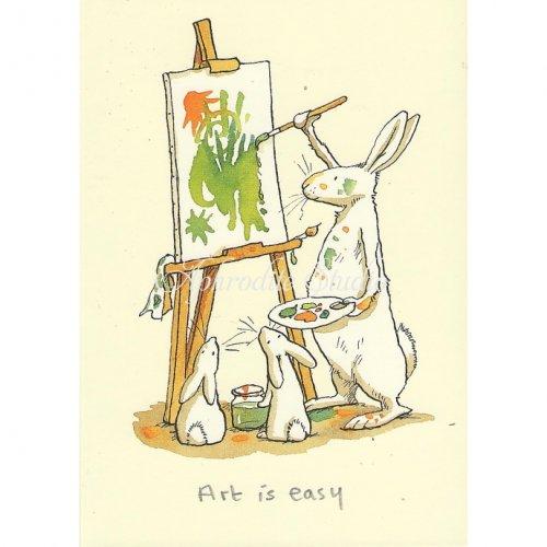 アニタ・ジェラーム メッセージカード【ART IS EASY】 グリーティングカード Anita Jeram