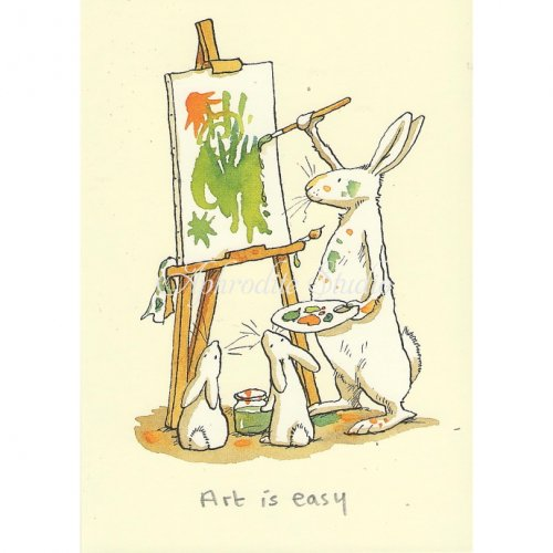 【OUTLET】アニタ・ジェラーム メッセージカード【ART IS EASY】 グリーティングカード Anita Jeram