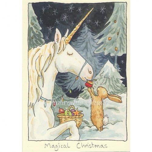 アニタ・ジェラーム メッセージカード【MAGICAL CHRISTMAS】 ブランククリスマスカード Anita Jeram