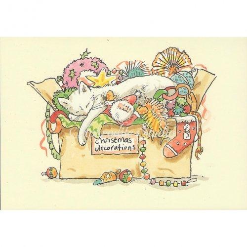 アニタ・ジェラーム メッセージカード【CHRISTMAS DECORATIONS】 ブランククリスマスカード Anita Jeram