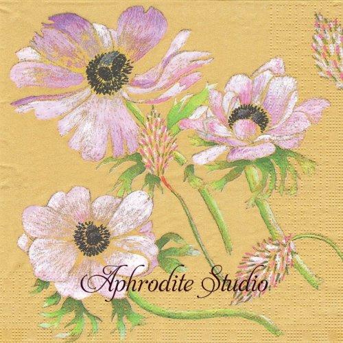 Magdalena ライラック色の花 1枚 バラ売り 33cm ペーパーナプキン ppd