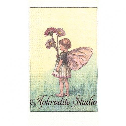 フラワーフェアリーズ ひな菊の花の妖精 ペーパーナプキン 1枚 40x33cm デコパージュ バラ売り Flower Fairies