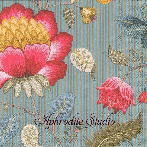 ピップスタジオ Fantasy お花 和柄 1枚 バラ売り 33cm ペーパーナプキン PIP STUDIO