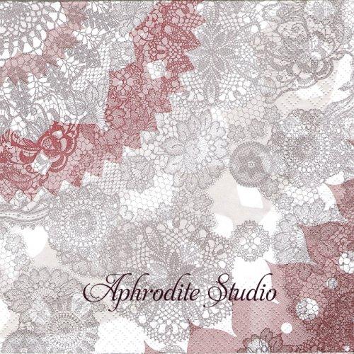 Boho Pattern レースパターン 1枚 バラ売り 33cm ペーパーナプキン HOME FASHION