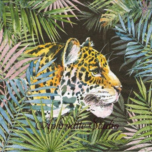 Jaguar ジャガー 1枚 バラ売り 33cm ペーパーナプキン HOME FASHION