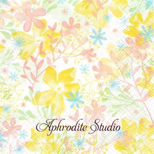 25cm Spring Mood 1枚 バラ売り ペーパーナプキン Atelier
