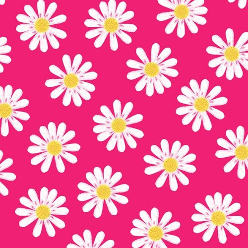 25cm Dancing Daisies pink 1枚 バラ売り ペーパーナプキン Atelier