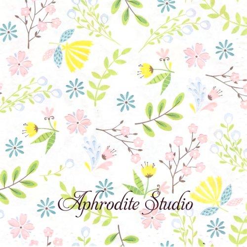Pastel florals パステルフローラル お花 エンボス加工  1枚 バラ売り 33cm ペーパーナプキン paper+design by Duni