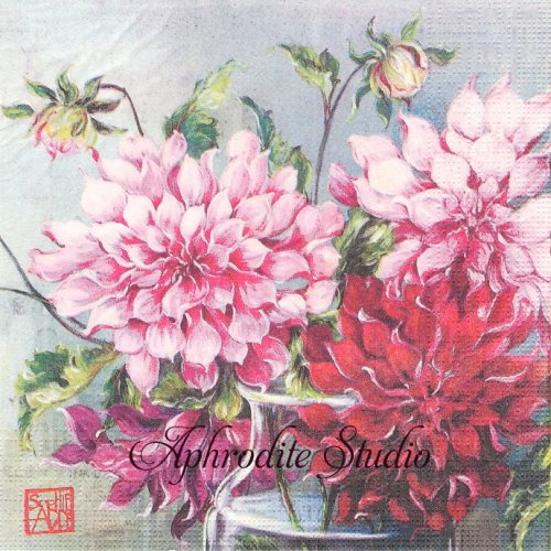 Pink Fusion  SOPHIE ADDE 1枚 バラ売り 33cm ペーパーナプキン ppd