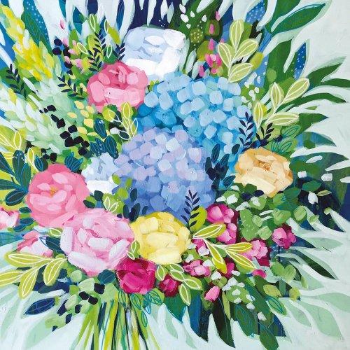 Royal Bouquet 1枚 バラ売り 33cm ペーパーナプキン ppd