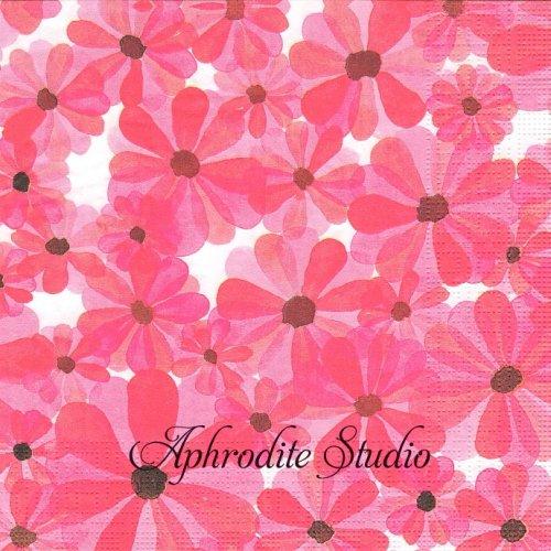 Pink Flush 1枚 バラ売り 33cm ペーパーナプキン ppd