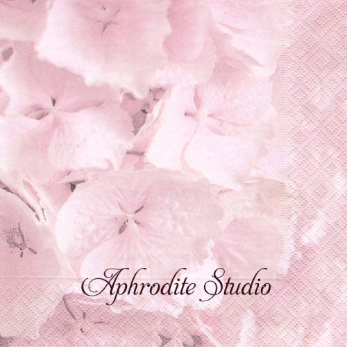北欧 紫陽花の花びら 1枚 バラ売り 33cm ペーパーナプキン SAGEN VINTAGE DESIGN