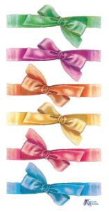 Ribbons カラフルリボン 1シート ヴィクトリアン シール ラベル ビクトリアン Victorian ラッピング
