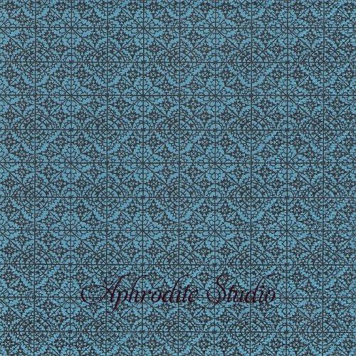 ORIENTAL CLASSIC ブルー 1枚 バラ売り 33cm ペーパーナプキン Ihr