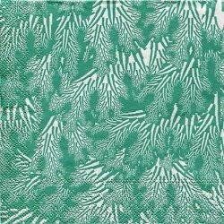 マリメッコ*メリヘイナ 海藻*ミントグリーン/1枚/25cm/紙ナプキン/バラ売り