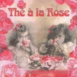 二人の少女のお茶会 ローズピンク フランス製 1枚 バラ売り 33cm ペーパーナプキン Orval Creations