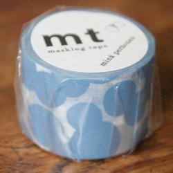 ミナ・ペルホネン/ソーダウォーター・ブルー*soda water-blue/マスキングテープ/カモ井