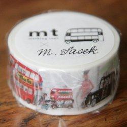 ミロスラフ・サセック/This is London/マスキングテープ/カモ井