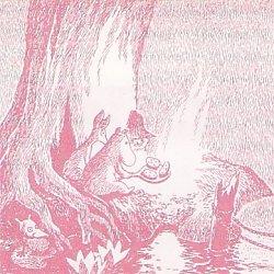 ムーミン/MOOMIN クッキング*ピンク/1枚/33cm/ペーパーナプキン/バラ売り/デコパージュ