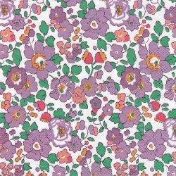 リバティ・オブ・ロンドン BETSY パープル ベッツィー お花 1枚 バラ売り 33cm ペーパーナプキン LIBERTY OF LONDON