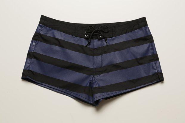 【OUTLET】★女性用 水陸両用 ショートパンツ(BLACK×NAVY)