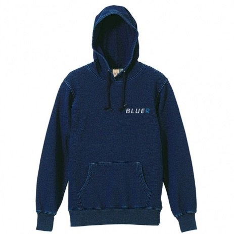 <img class='new_mark_img1' src='//img.shop-pro.jp/img/new/icons29.gif' style='border:none;display:inline;margin:0px;padding:0px;width:auto;' />BLUER CLOTHING Pull Hoodie|Atlantice Indigo