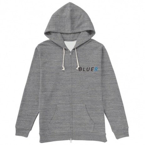 BLUER CLOTHING Zip(ジッパー) Hoodie|Sand